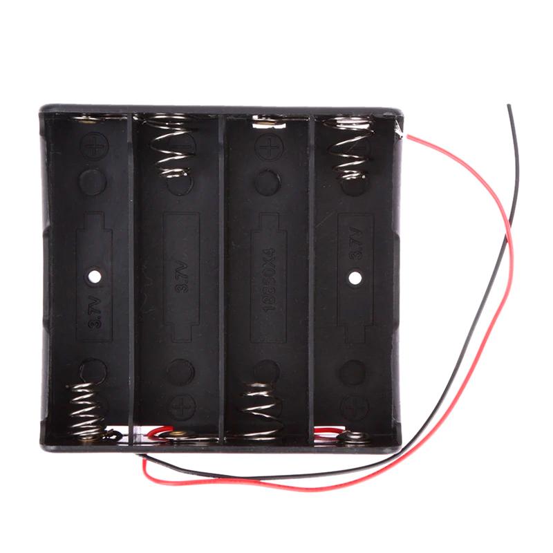 Батареечный отсек ET 18650 4S1P на 4 аккумулятора с проводом