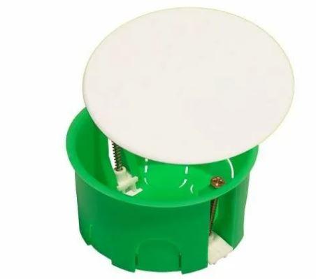 Коробка распред. 86*45 для полых стен (внутр.80*45) кр.пл.лап 6 ввод.IP30 KP1202 HEGEL