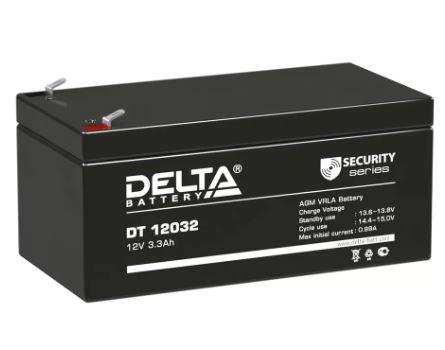 Аккумулятор DELTA DT 12032 12V 3.2Ah свинцово-кисллот.