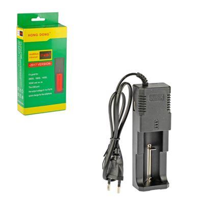 З.У. Hong Dong HD-8866i сетевое для аккумуляторов (AA)18650/14500/266500/16340 + 1USB