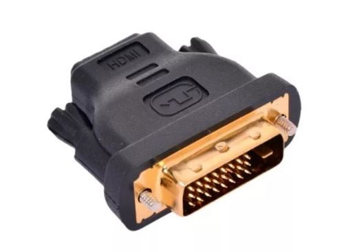 Переходник HDMI(19F) - DVI D (25F) VCON золот.конт.,VAD7819