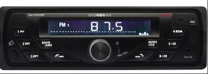 Автомагнитола SOUNDMAX SM-CCR3058F 1DIN 4*40Вт