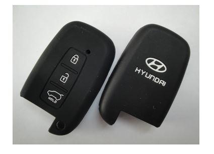 Чехол силиконовый для ключа зажигания HYUNDAI Smart 3 buttons ;IX35, New Sonata