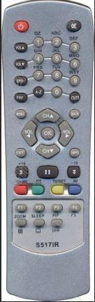 Пульт для приставки Радуга-ТВ World Vision S517IR ic DiZiPiA техпак
