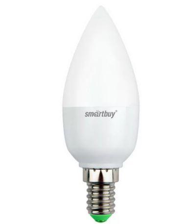 """Лампа Smart Buy Светодиодная C37 12W 3000/E27 """"СВЕЧА"""" теплый свет"""
