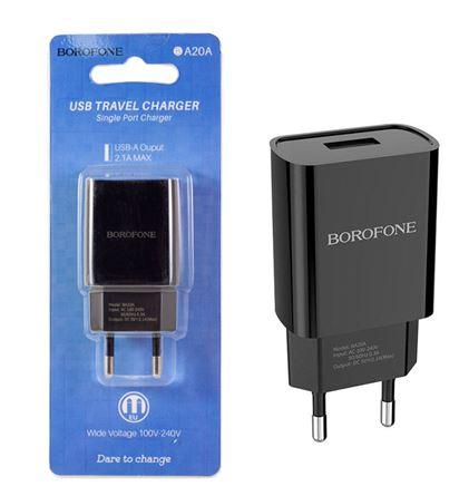 СЗУ BOROFONE BA20A  1 USB 2.1A