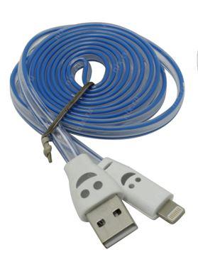 Дата-кабель SMARTBUY для Apple 8 pin 1.2м с индикацией заряда iK512