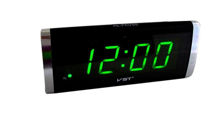 Часы настольные VST-730/2 (зеленый)