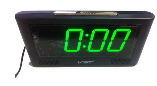 Часы настольные VST-732/4 (ярко-зеленый)