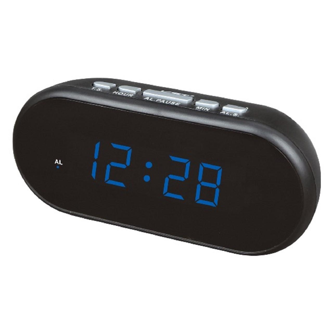 Часы настольные VST-712-5 (ярко-синий)