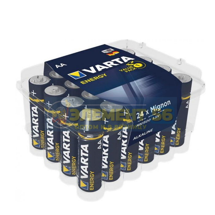 VARTA ENERGY ALKALINE BIG BOX LR6, AA, MN1500, А316 24BOX (24) (288)