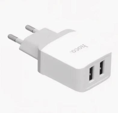 СЗУ 2 USB Hoco C33A 2.4A белый