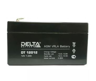 Аккумулятор DELTA DT 12012 12V 1.2Ah свинцово-кисллот.