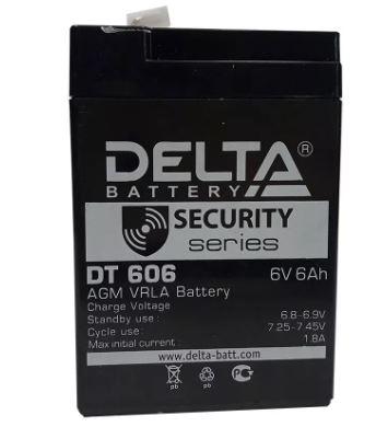 Аккумулятор DELTA DT 606 6V 6.0Ah свинцово-кисллот.