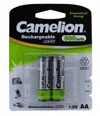 CAMELION R 06 ( 600 mAh) 2BL Ni-Cd (24)(384)