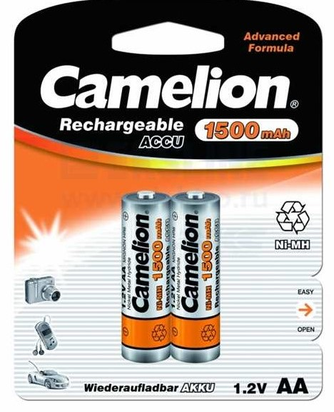 CAMELION R 06 (1500 mAh) 2BL