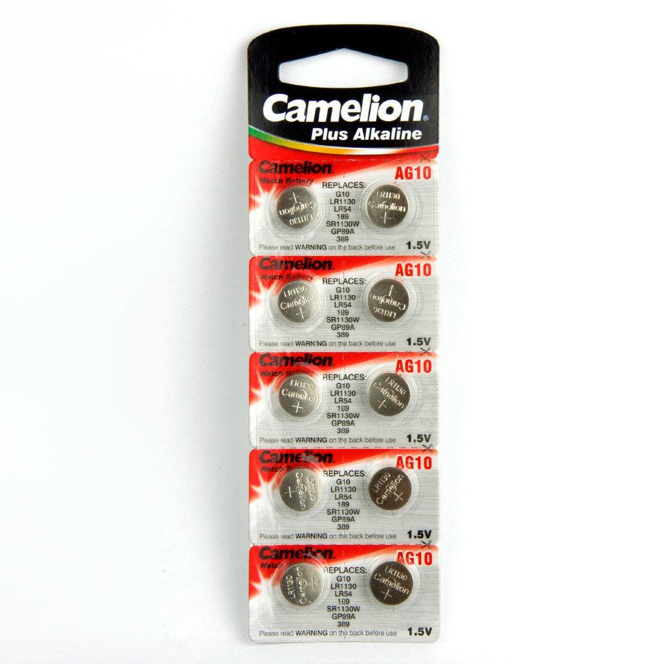 CAMELION AG 10 (389А) LR1130 (10) (100)