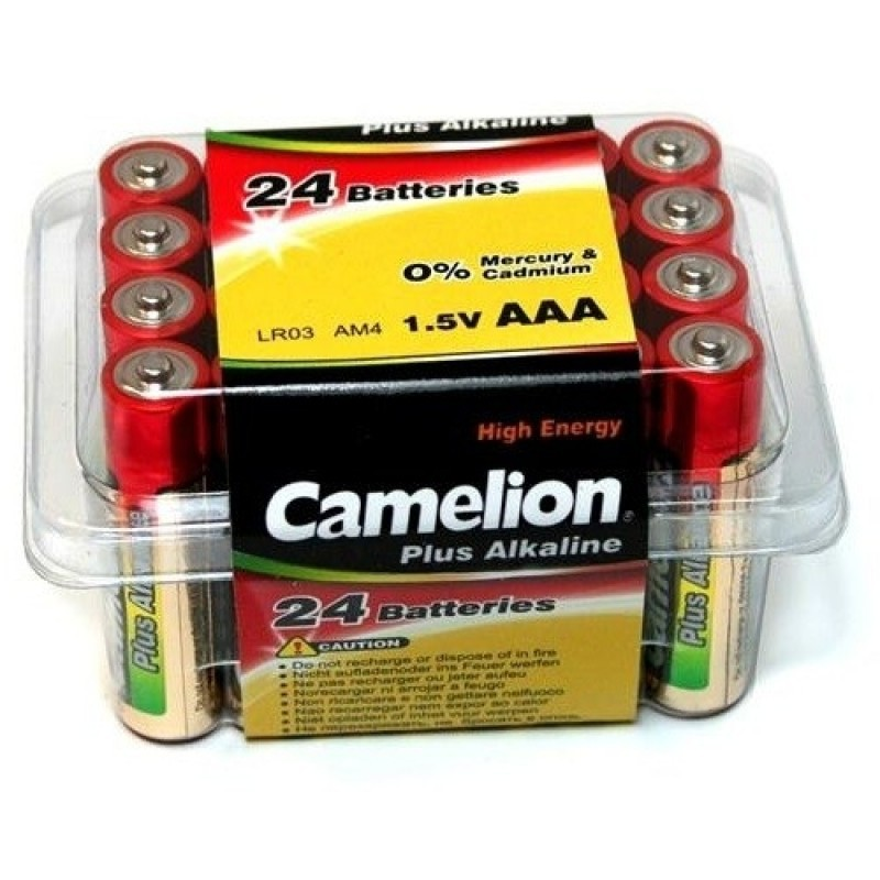 CAMELION LR 03  PLASTIK BOX (24) (144) ( 576)