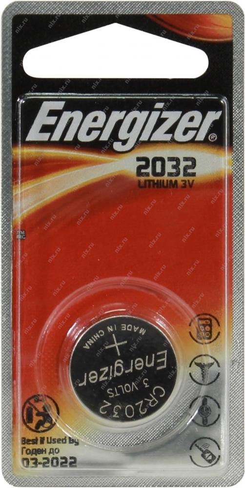 ENERGIZER CR 2032 литий - 1BL