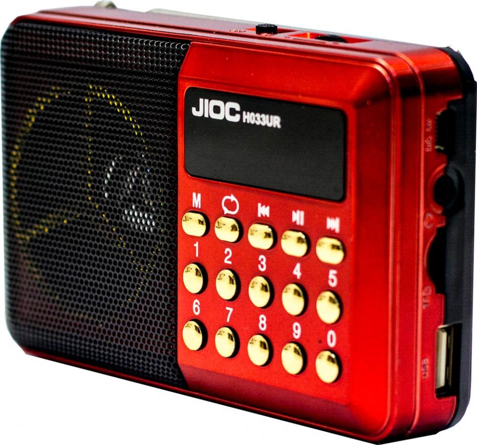 Радиоприемник FM/USB/microSD/AUX  JOC H033UR