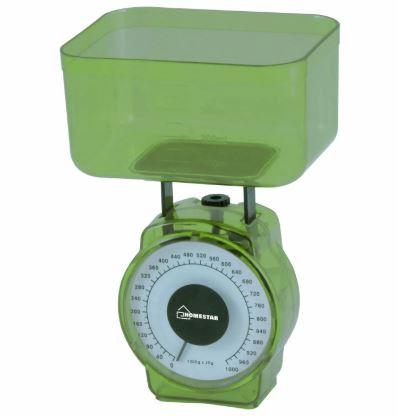 Весы HOMESTAR HS-3004M кухонные механ. до 1кг, дел.20гр, обьем чаши 400мл