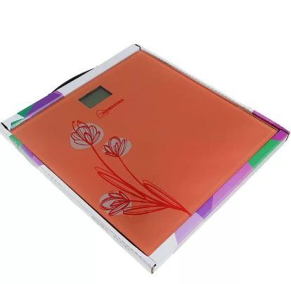 Весы HOMESTAR HS-6001A напольные эл. до 180кг, дел.100гр, стекло, (CR2032 в компл.) роз.