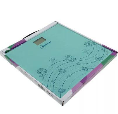 Весы HOMESTAR HS-6001B напольные эл. до 180кг, дел.100гр, стекло, (CR2032 в компл.) гол.
