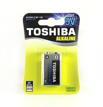 TOSHIBA 6LR61-1BL (КРОНА-ALKALINE)