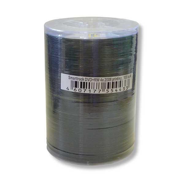 Диск SMART TRACK DVD+RW 4X BRAND BULK 100шт в пленке