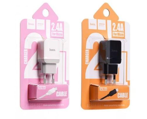 СЗУ 2,4А USB Hoco C22 (microUSB)