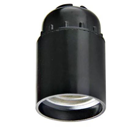 Патрон Е27 карболит.подвесной чёрн. 4А 250В Н12П-01 Белая Церковь