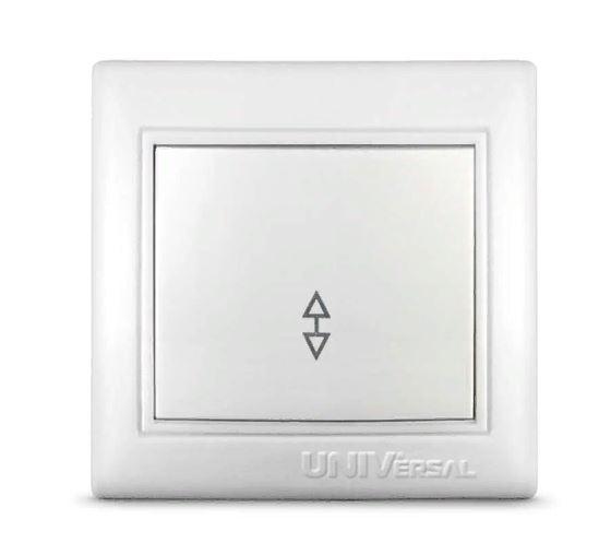 Выключатель 1кл. бел. Севиль СУ. 10A 220B (C0025) (3/10/100/200)