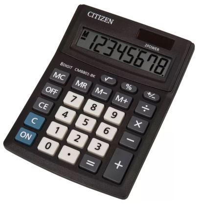 Калькулятор CITIZEN CMB-801BK настольный 8-разрядный