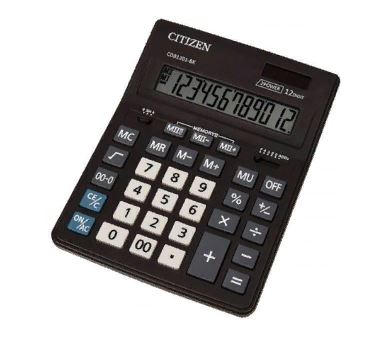 Калькулятор CITIZEN CMB-1201BK настольный 12-разрядный