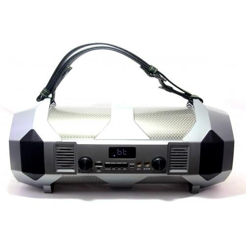 Бумбокс 42см+светомузыка+Bluetooth+USB+радио+микрофон+аккумулятор Cigii S37