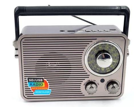 Радиоприемник KEMAI MD-117BT +USB+SD+Bluetooth+аккумулятор