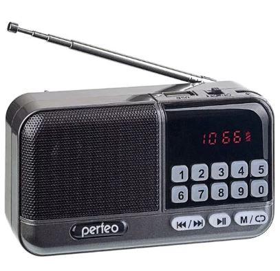 Радиоприемник PERFEO ASPEN I20 MP3 +USB +SD FM +аккумулятор