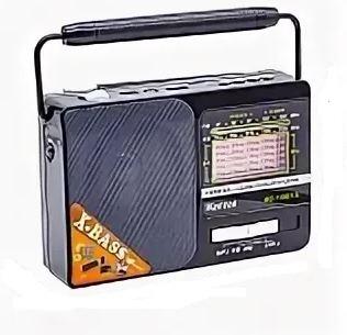 Радиоприемник KEMAI MD-119BT-S +USB+SD+Bluetooth+аккумулятор