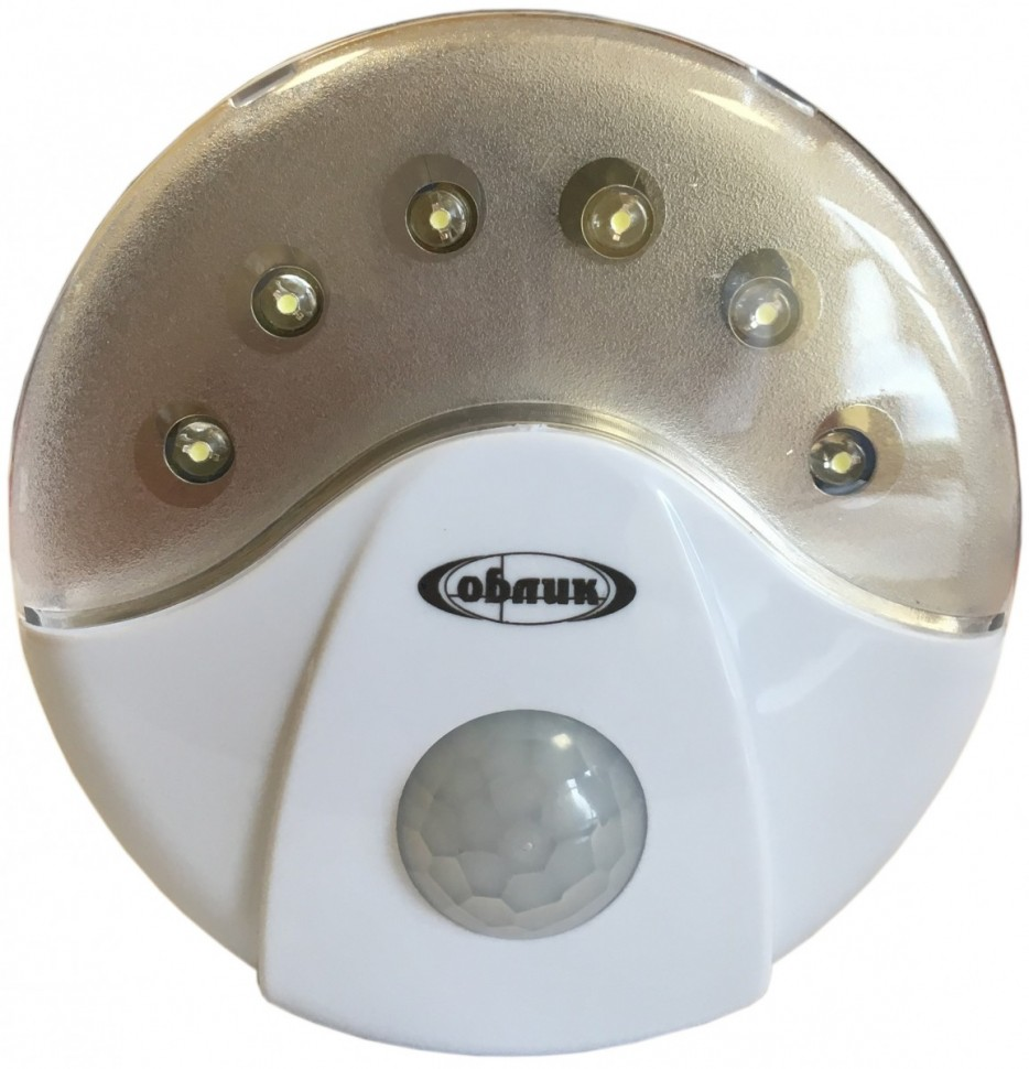 Фонарь  Облик 5033 - 6 LED (датчик движения)