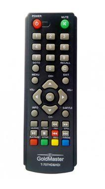 Пульт GOLDMaster T707HD&HD1 (SKY VISION T2108. 1107HD)   ic  DVB-T2  тех пак
