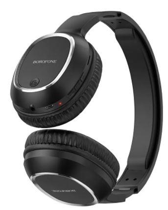 Наушники BOROFON BO10 полноразмерные Bluetooth