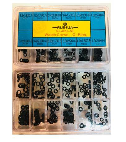 Набор сальников для головок часов 4031-XL (3,2-4,2мм)