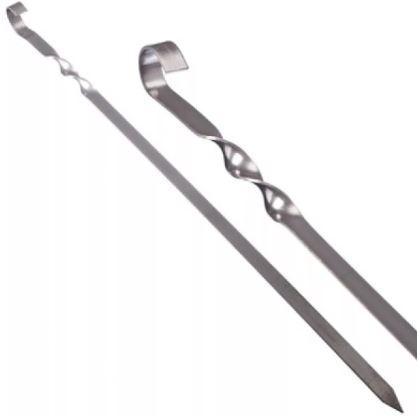 Шампур плоский 450*10 (1,5мм) нерж. сталь Бастион-Пром