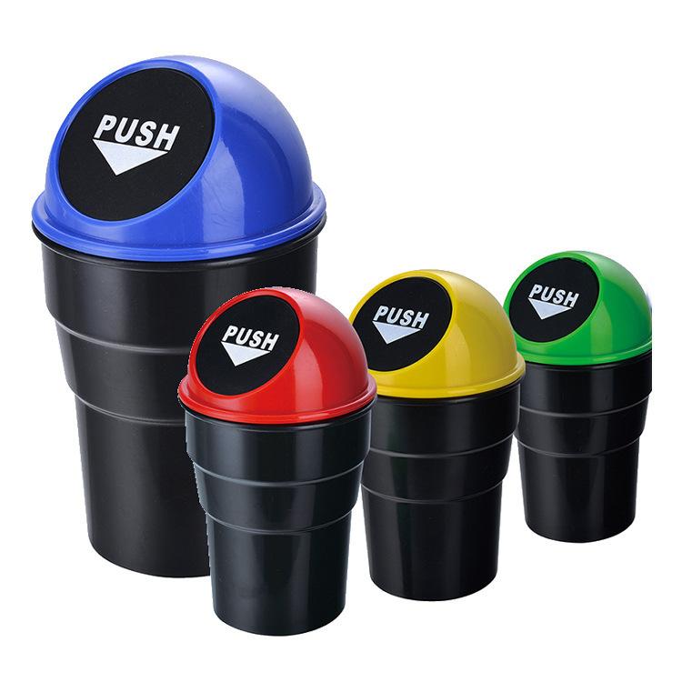 Ведерко-мини мусорное, круглое (г014)