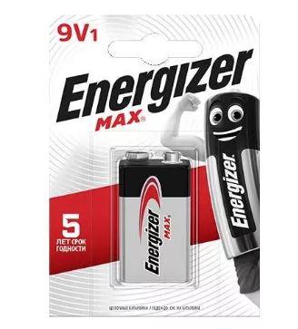 ENERGIZER (КРОНА-ALKALINE) 1BL (10) 1604A, 6LF22, 6LR61, MN1604, MX1604, 6LP3146.
