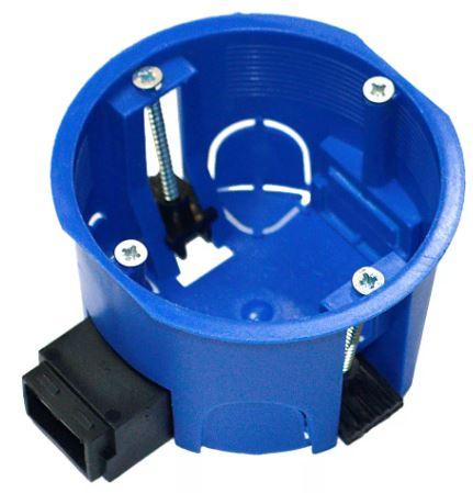 Коробка уст. 68*45 для полых стен СУ ГСК переходник HF 80-0600П синий ПРОМОРУКАВ