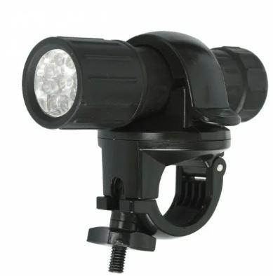 Фонарь ULtraflash LED652 (3*R03) 9св/д (40lm)  велосипедный