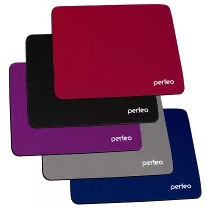 Коврик для мышки PERFEO PF-5141 5 цветов ткань+СБР 180*220*2мм