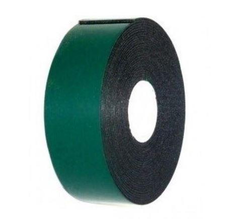 Скотч двухсторонний , зеленого цвета на черной основе, 25мм, 5метров REXANT (1)