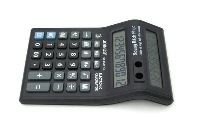 Калькулятор+2 экрана JL-8585-12